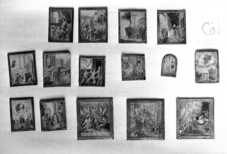 Maquette, autres tableaux, contenus dans la maquette et regroupés