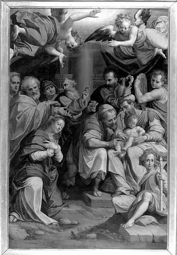 La circoncision, peinture sur toile de la chapelle de la Vierge