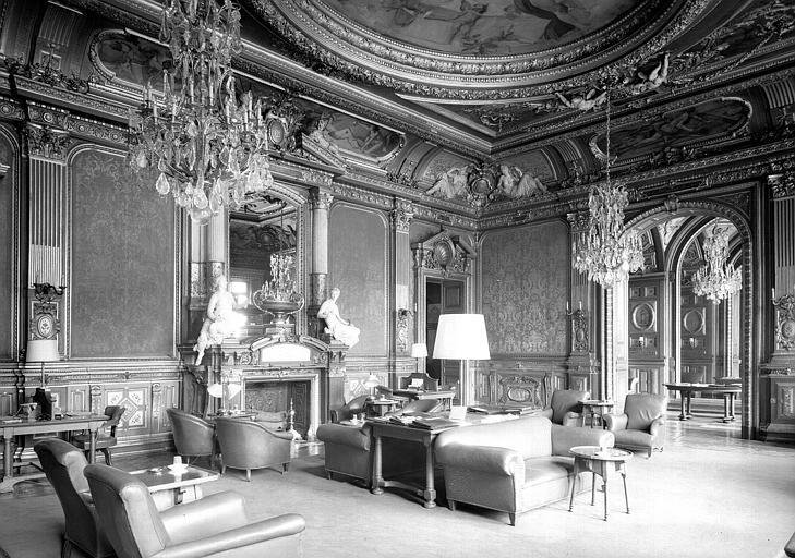 Grand Salon décoré
