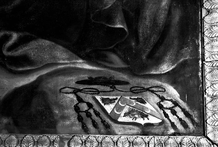 Adoration des mages, peinture sur toile