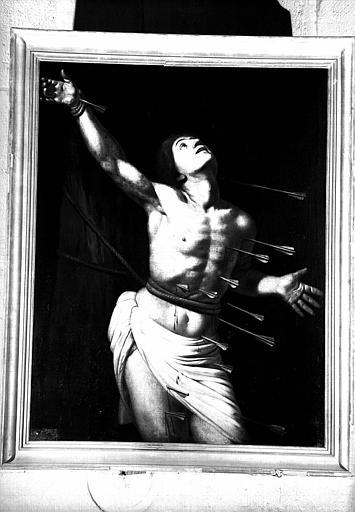 Saint Sébastien, peinture sur toile