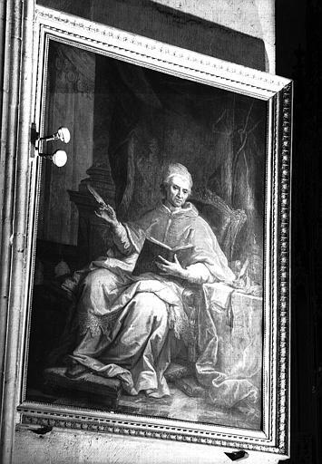 Portrait d'un cardinal, peinture sur toile