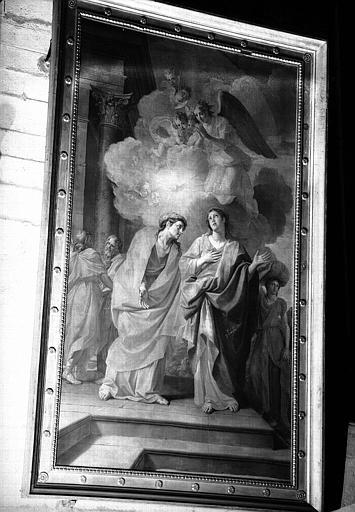 Visitation, peinture sur toile