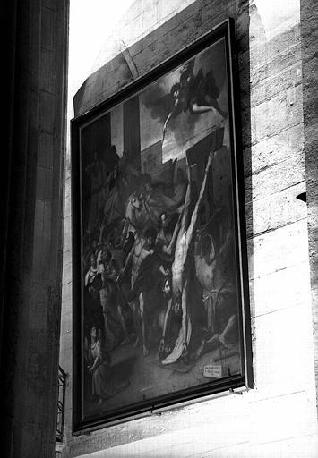 Martyre de saint Barthélémy et saint Gervais, peinture sur toile