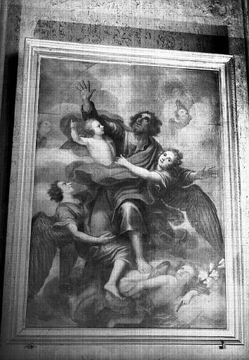 Ravissement de saint Joseph, peinture sur toile