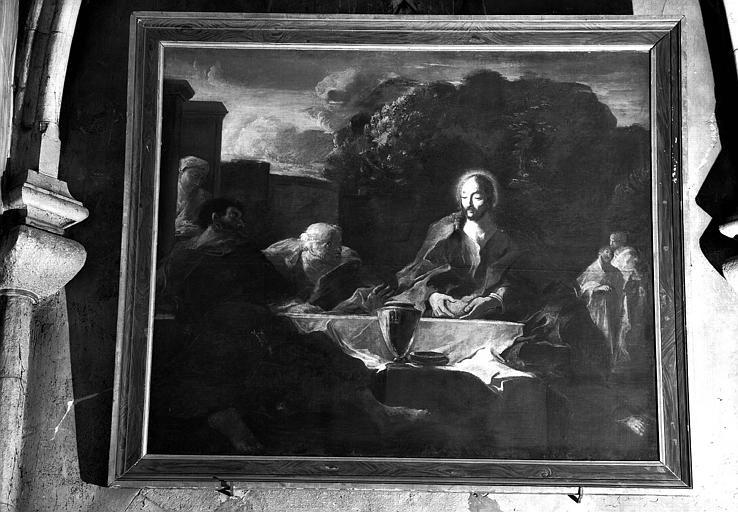 Pélerins d'Emmaüs, peinture sur toile