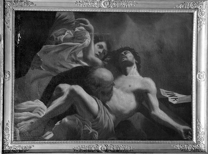 Descente de croix, peinture sur toile