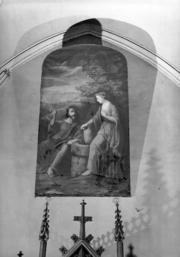 Le Christ et la Samaritaine, peinture sur toile