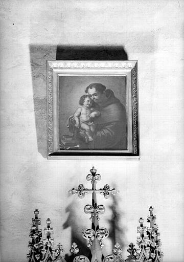 Saint Antoine de Padoue, peinture sur toile