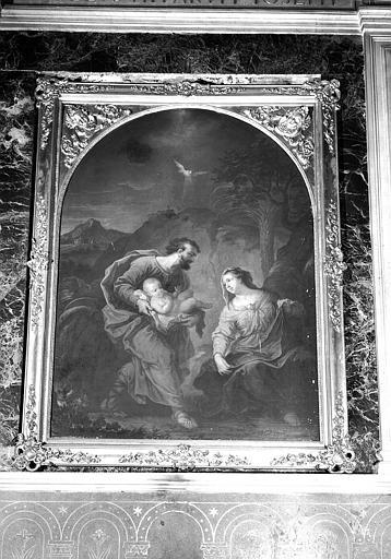 Sainte Famille, peinture sur toile