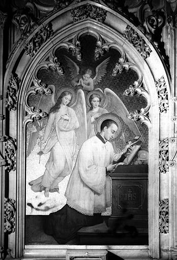 Saint Louis de Gonzague, peinture sur toile
