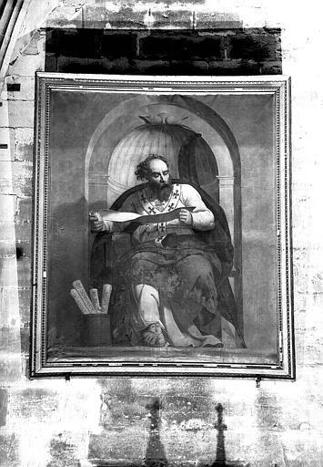 Sainte Irénée, peinture sur toile