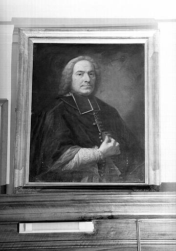 Tableau : Portrait d'un ecclésiastique