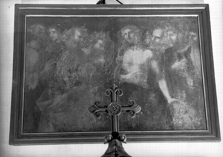 Incrédulité de saint Thomas, peinture sur toile