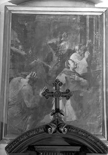 Saint Charles Borromée, peinture sur toile