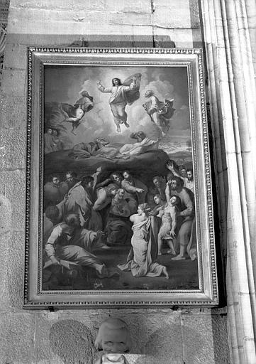 Transfiguration, peinture sur toile
