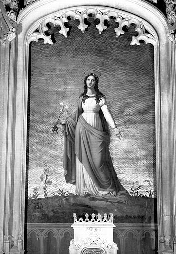 Sainte Philomène, peinture sur toile