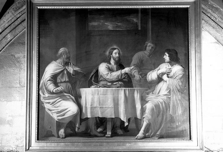 Le repas d'Emmaüs, peinture sur toile