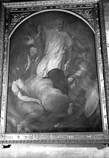 Apothéose de saint Vincent de Paul, peinture sur toile