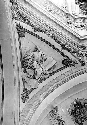 Coupole, pendentif, bas-relief, Saint-Marc