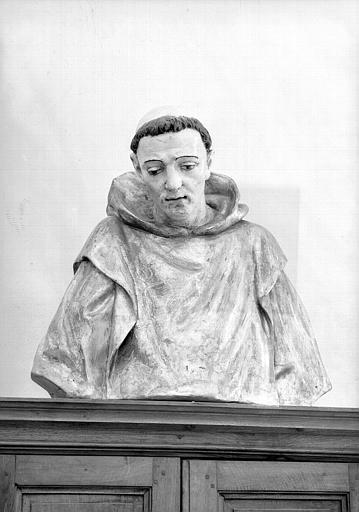 Buste polychrome de saint Bruno, sacristie