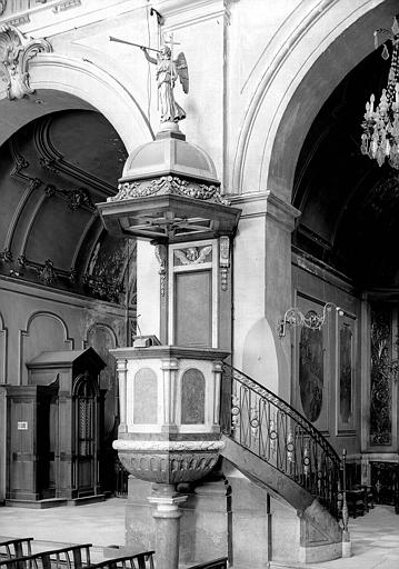 Chaire de la chapelle Saint-Bruno