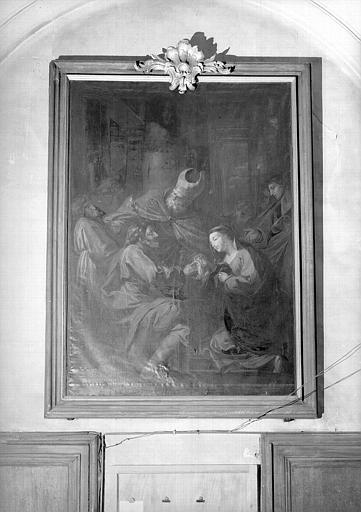 Mariage de la Vierge, peinture sur toile de la chapelle Saint-Bruno