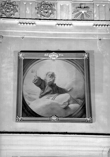Le Père éternel, peinture sur toile de la chapelle Saint-Bruno
