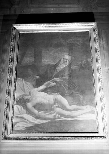 Pietà, peinture sur toile de la chapelle