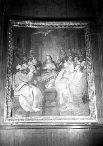 Pentecôte, peinture sur toile de la chapelle