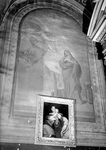 Chapelle, peinture murale : Annonciation