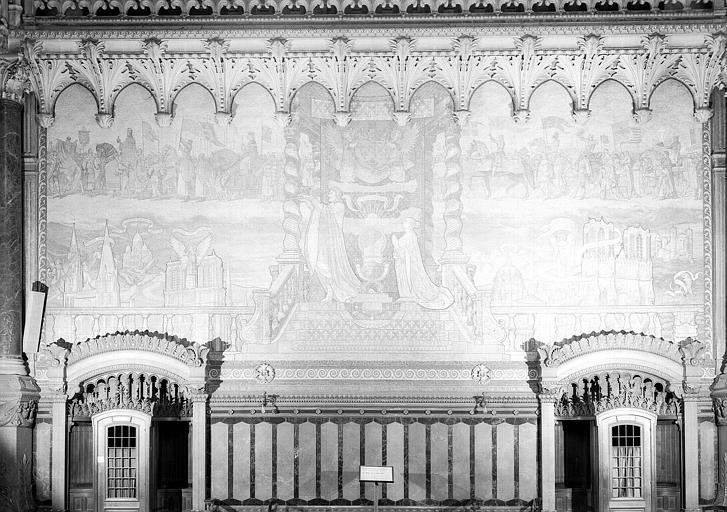 Mosaïque : Le Voeu de Louis XIII; Grands sanctuaires français à Notre-Dame; Personnages de l'histoire de France