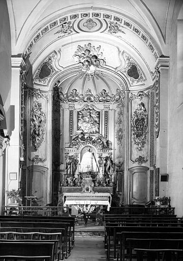 Choeur de l'ancienne chapelle de Fourvières