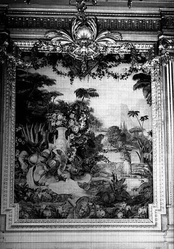 Le Jardin des amazones, tapisserie d'Aubusson, grande salle des fêtes