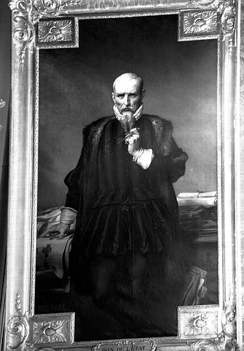 Philibert de l'Orme, peinture sur toile