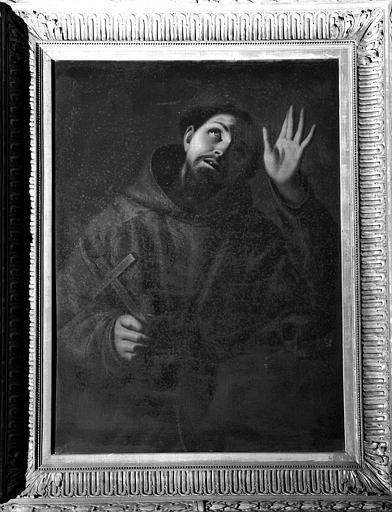 Saint François d'Assise, peinture sur toile