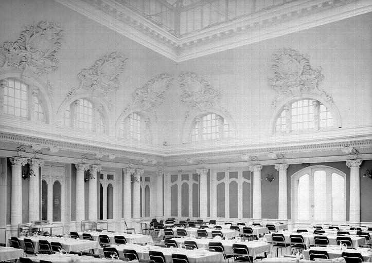 Salle à manger de l'ancien hôtel de L'Europe