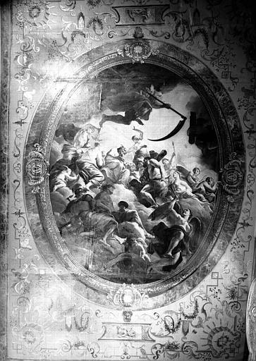Peinture du plafond du cabinet d'Hercule : Apothéose d'Hercule