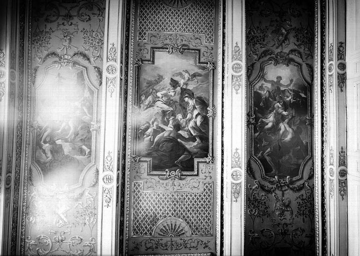 Peintures du plafond du cabinet de Minerve