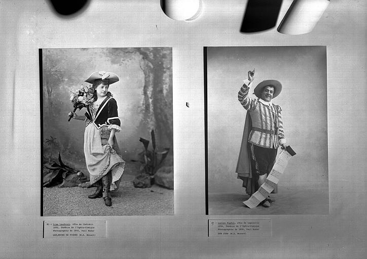 Mozart : Les Noces de Figaro (cat. 81), Don Juan (cat. 87)