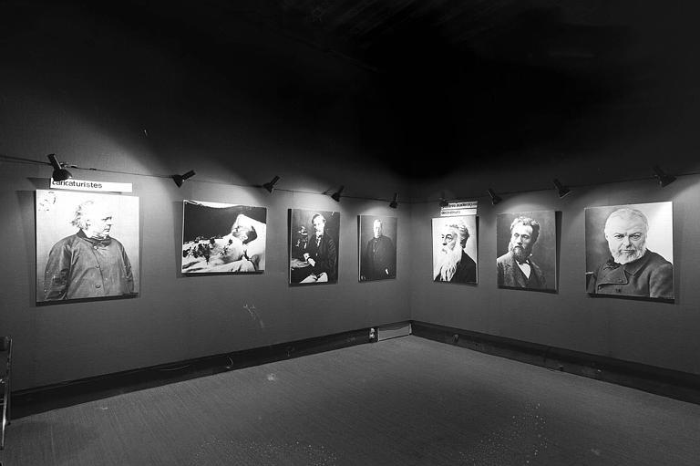 Deuxième salle de l'exposition Nadar
