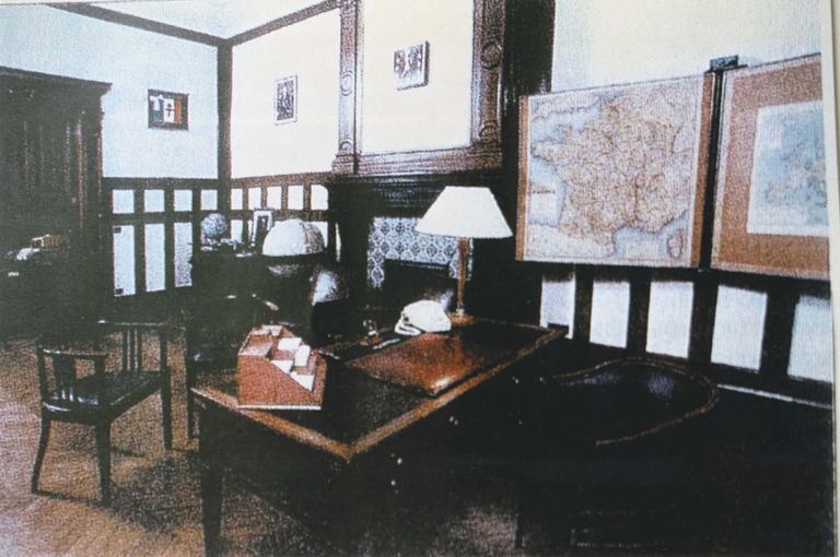 Mobilier du bureau du Général de Gaulle