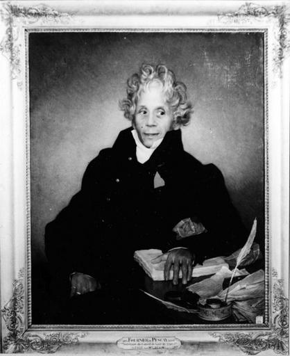 tableau : Portrait de Fournier Pescay
