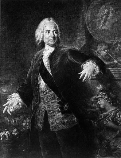 tableau : Portrait de Germain Pichault de la Martinière