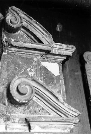 Fragment de mausolée dit Gondé, détail d'entablement