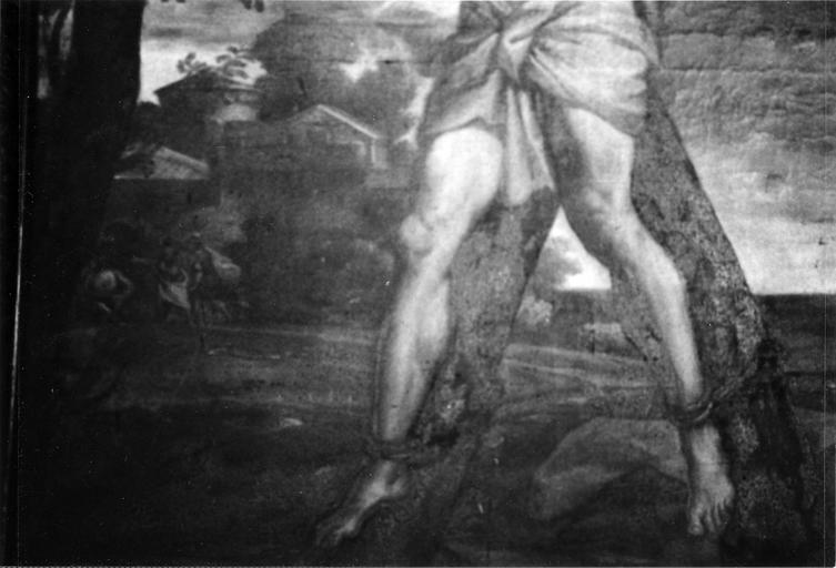 Tableau du maître-autel : Le Martyre de saint André