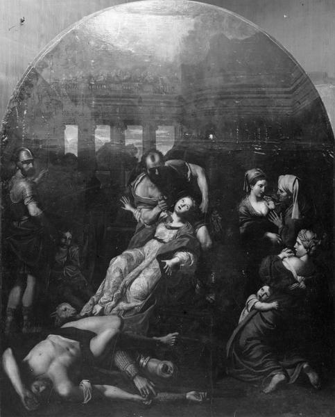Tableau : Le Martyre de sainte Agnès