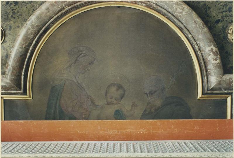 Tableau : Sainte Thérèse en extase, détail