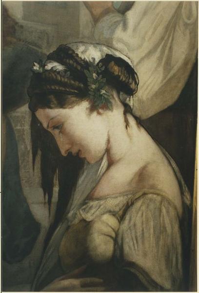 tableau : L'Apothéose de sainte Thérèse, détail