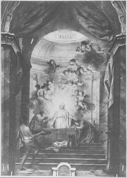 Tableau : Les Disciples d'Emmaüs, vue générale